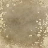 Old paper background with splatters Royalty Free Stock Image