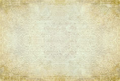 Old paper background with tracery. Texture of the  grunge paper as a background Royalty Free Stock Image