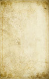 Old paper background with vintage floral frame. Royalty Free Stock Photos