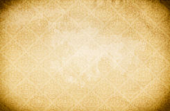 Old paper background with vintage ornament. royalty free stock images