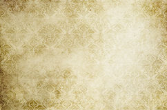Old paper background with vintage patterns. Stock Images