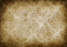 Old paper background with vintage patterns. Stock Photography