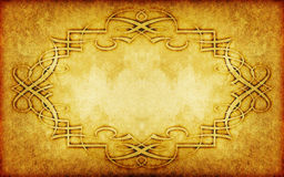 Old  paper background with vintage victorian style Stock Image