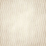 Old paper background with waves Stock Images