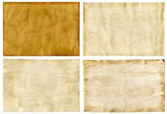 Old paper backgrounds Stock Image