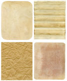 Old paper backgrounds Royalty Free Stock Image
