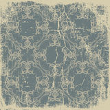 Old paper with a beautiful pattern vintage background Royalty Free Stock Photos