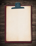 Old paper block. Royalty Free Stock Photography