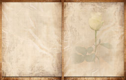 Old paper book Royalty Free Stock Image