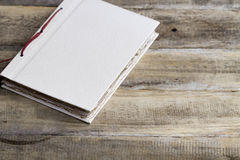 Old paper book Royalty Free Stock Photos