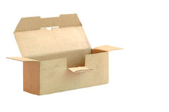 Old paper box Stock Image