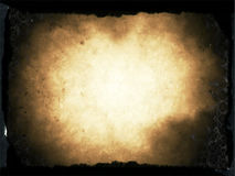 Old paper burn texture Royalty Free Stock Image