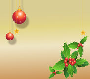 An old paper chrismas backgrou Royalty Free Stock Images