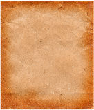 Old paper with curled edges isolated Stock Image