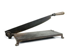 Old Paper Cutter Royalty Free Stock Photo