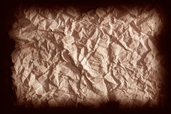 Old paper dark background Royalty Free Stock Photo
