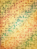 Old paper with dots Royalty Free Stock Image