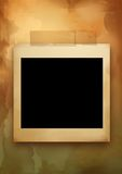 Old paper and empty frame. Old paper, papyrus with empty frame Royalty Free Stock Images