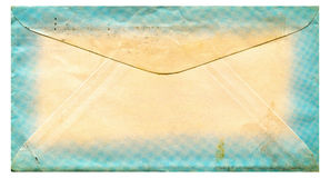 Old paper envelope Stock Photography