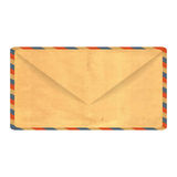 Old paper envelope Stock Images
