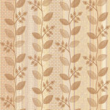 Old paper floral background Royalty Free Stock Image