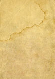 Old paper and frame. Paper texture for design. Version of the old yellowed paper. The texture of the paper under the old way Royalty Free Stock Images