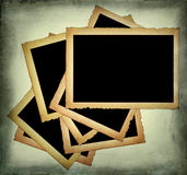 Old paper frames with frayed edges Royalty Free Stock Photography