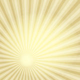 Old paper with gold rays vector illustration