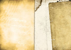 Old paper on grunge background Royalty Free Stock Photography