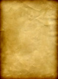 Old paper grunge background with a burned frame. And space for text or image royalty free illustration