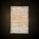 Old paper on grunge background Royalty Free Stock Photos