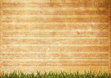 Old paper grunge music sheet texture. Background Stock Photography
