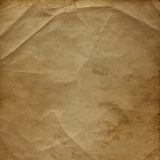 Old paper in grunge style Stock Image