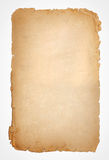Old paper grunge texture, empty yellow page Royalty Free Stock Images