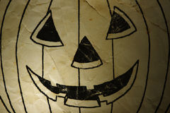 Old paper Halloween of background. Old paper Halloween of ghost Pumpkin background Royalty Free Stock Images
