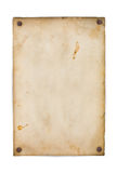 Old paper isolated stock images