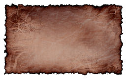 Old paper isolated. Old; backgrounds; paper; isolated; blank Royalty Free Stock Image