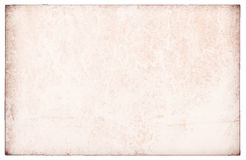 Old paper isolated. Background vintage Stock Photo