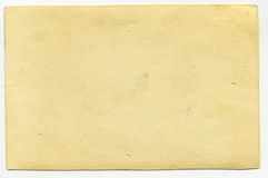 Old paper isolated on white. Old grunge paper on white background Stock Images