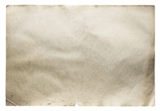 Old paper isolated Royalty Free Stock Images