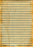 Old paper with lines Royalty Free Stock Photo