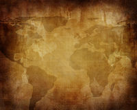 Old paper map Royalty Free Stock Photos