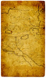 Old paper map. Royalty Free Stock Photography