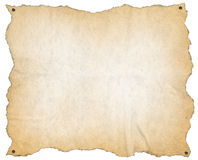 Old Paper with Nails Royalty Free Stock Images