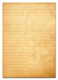 Old paper notes. series. Old paper notes background . series Royalty Free Stock Photo