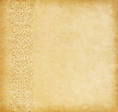 Old paper with oriental ornament. Stock Images