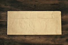 Old paper over wood Stock Photos