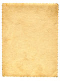 Old paper page Royalty Free Stock Photo