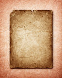 Old paper page background Royalty Free Stock Image