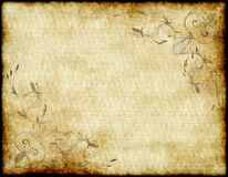 Old paper or parchment Royalty Free Stock Image